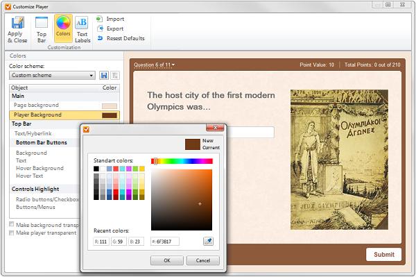 Windows 7 iSpring QuizMaker 7 full